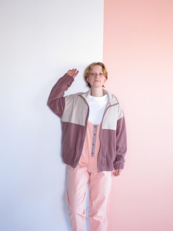 unisex Folk Fortune Eco-fleece Jacket