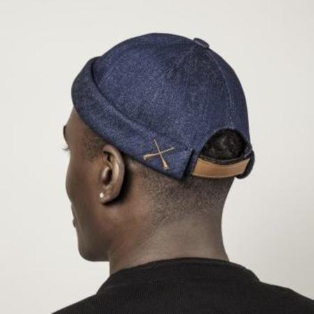 Unisex Beton Cire Miki Hat - Recycled Denim