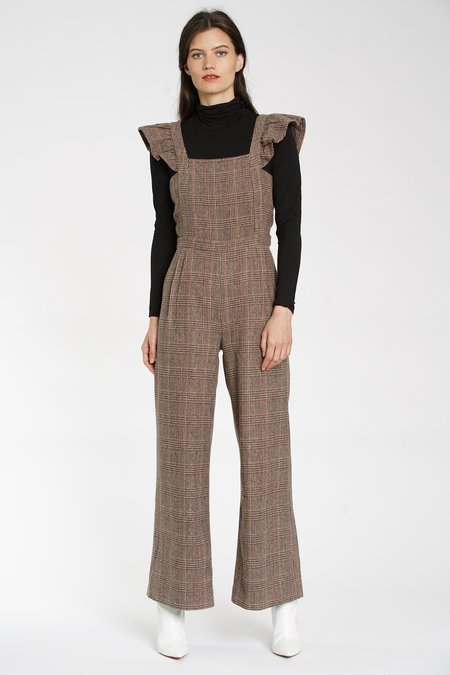 DRA Huntsman Plaid Jumpsuit