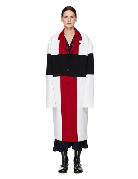 Haider Ackermann Wool Knitted Coat - Multicolor