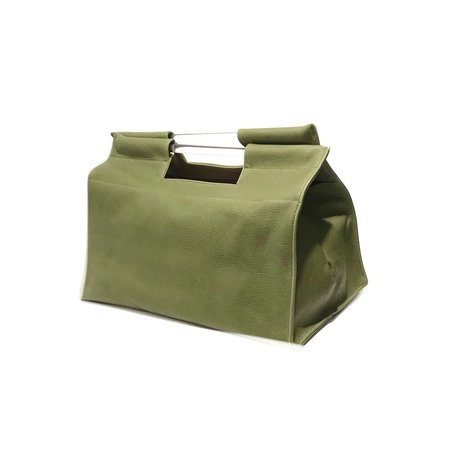 Erin Templeton Short Record Tote  - Green