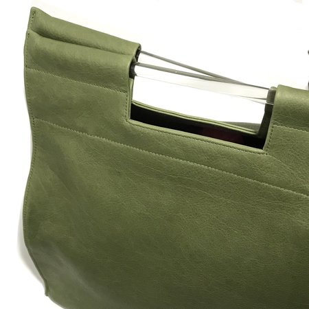 Erin Templeton Tall Record Tote - Green
