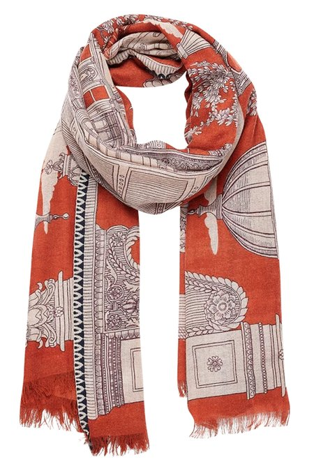 Inouitoosh Archipel Wrap - Rust