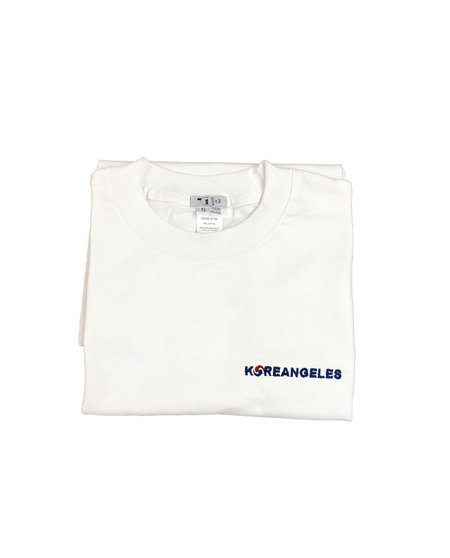 House Of 950 Embroidery Tee Shirt - Koreangeles