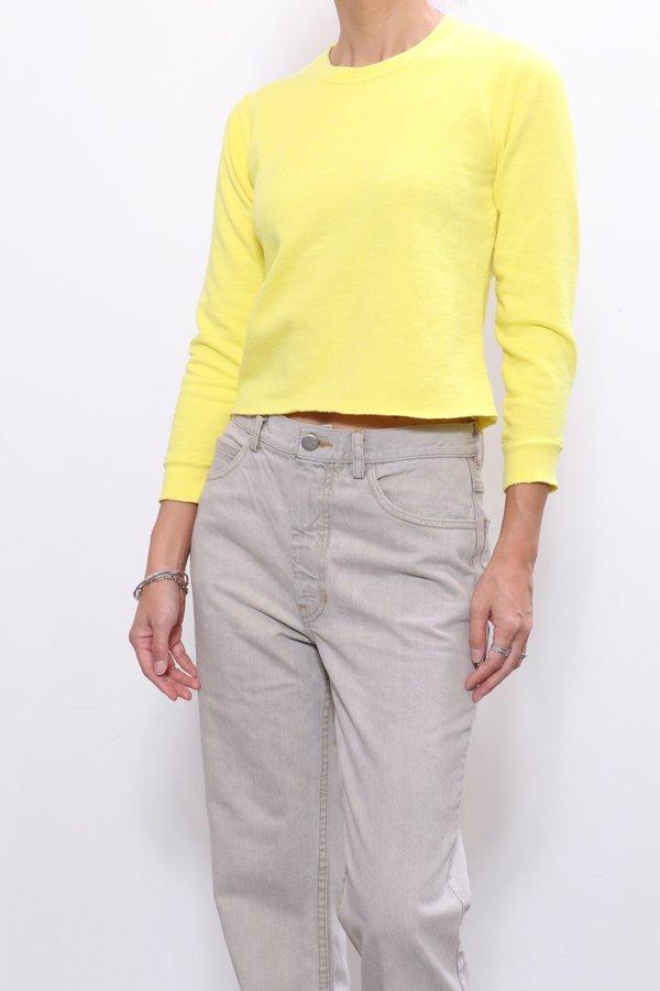 Rachel Comey Adore Sweatshirt - Citron