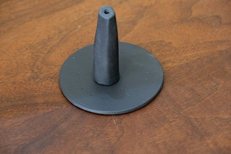 Maaps Monolith Incense Holder - Black