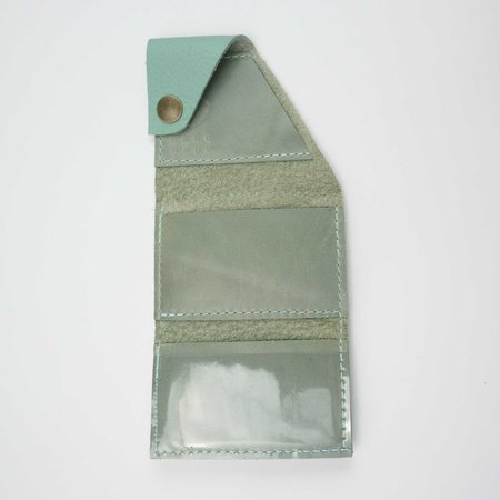 Robbie Moto The Loaded Dave Wallet - Robin's Egg Pebble