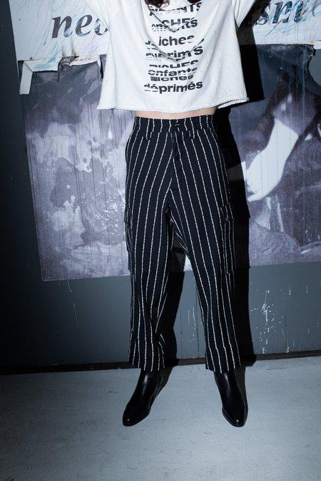 Enfants Riches Deprimes ERD Logo Stripe Cargo Pant