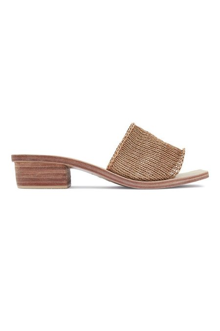 St. Agni Celina Knitted Sandal - Tan