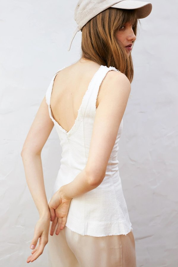 BEFORE MARCH Amber top - Ivory