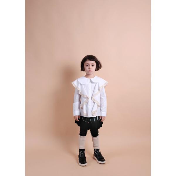 kids wolf & rita rebeca shirt - white