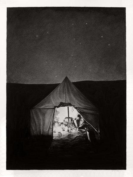 Joel Daniel Phillips Erg Chigaga (Night)