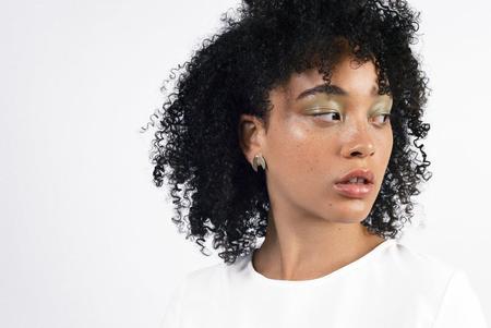 Natalie Joy Floret Post Earring - Brass