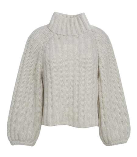 Eleven Six Maggie Sweater - Ivory/Grey