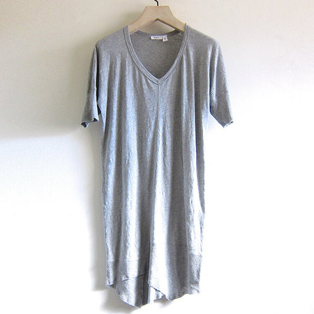 Wilt split seam dress - grey heather