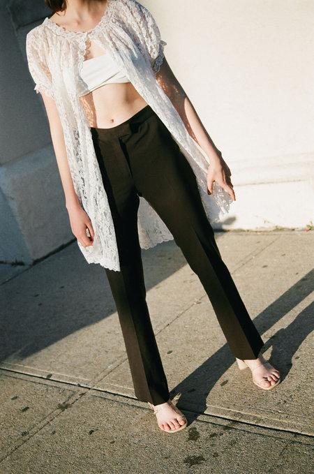 Vintage Mui Mui Trousers  - Dark Brown