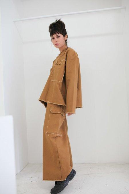 Ashley Rowe Pocket Pant - Tan