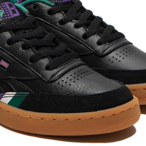 Reebok Affiliates x Bronze 56K Club C Revenge Sneaker - Black
