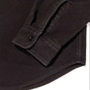 Outerknown Lost Coast Moleskin Shirt - Pitch Black