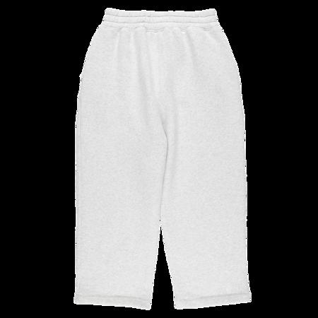 ALEXANDER WANG Dense Fleece Oversized Pants - Light Heather Grey