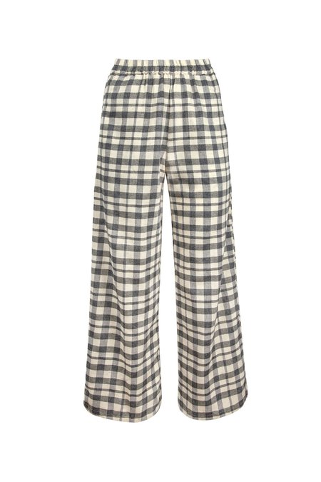 Wray Luna Pant - Grey Check