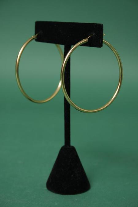 Bare & Golden Nefertiti Hoop - Gold