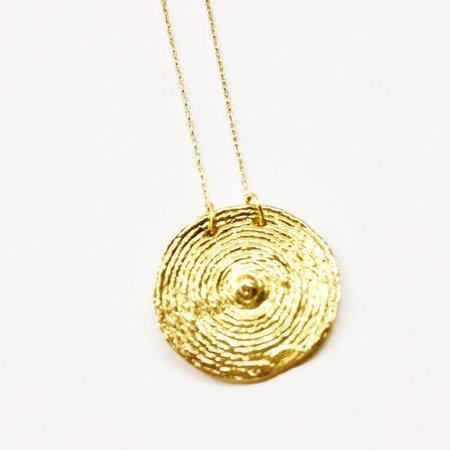 COG SOL NECKLACE - 14k Gold Plated