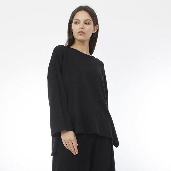 Corinne Gabby sweater - black