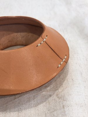 Lauren Manoogian Stiched Saucer Bangle