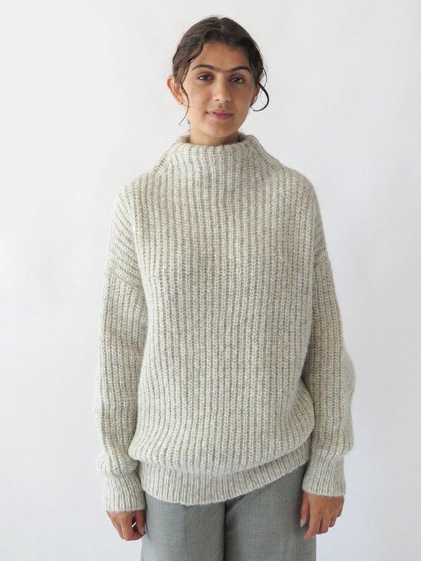 Lauren Manoogian Fisherwoman Mockneck