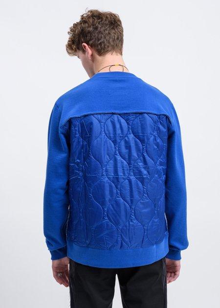 JohnUNDERCOVER Back Patchwork Sweater - Blue