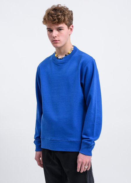 JohnUNDERCOVER Back Patchwork Sweater - Blue