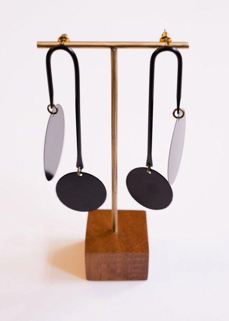 Sibilia Equilibrium Earrings - Noir
