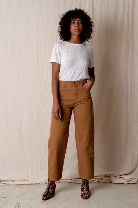 Carleen RELAXED JEANS - Brown
