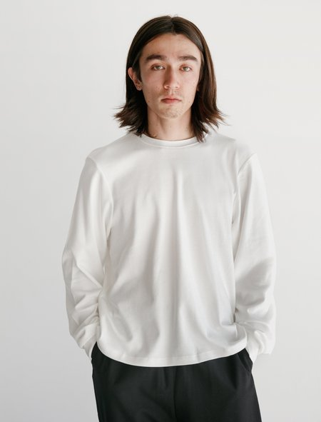 Unisex Camiel Fortgens Tailored Long Sleeve Tee - White