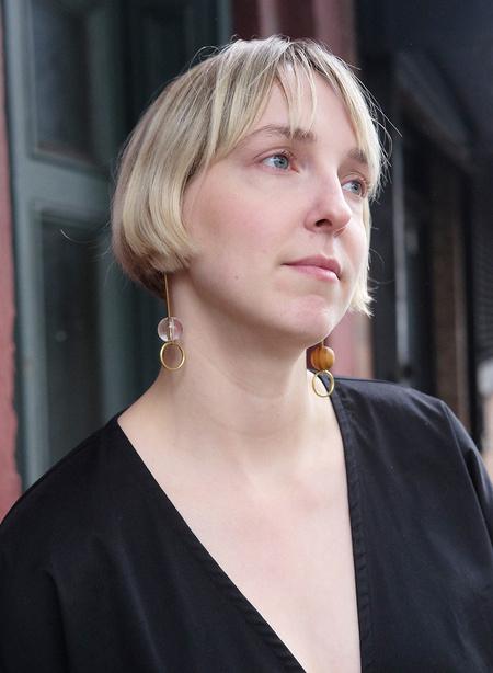 Gran Sans Inverse Drop Earrings
