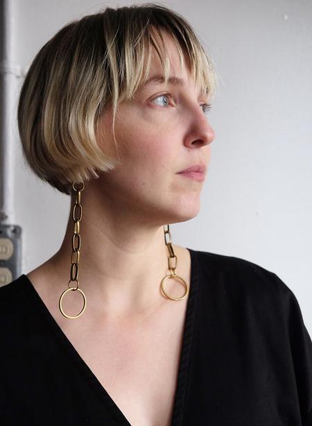 Gran Sans Chain Link Earrings