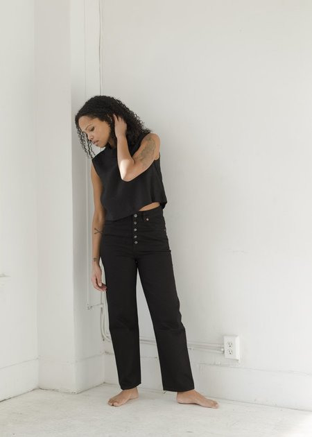 Decade Bonnie Jeans - Black Rinse