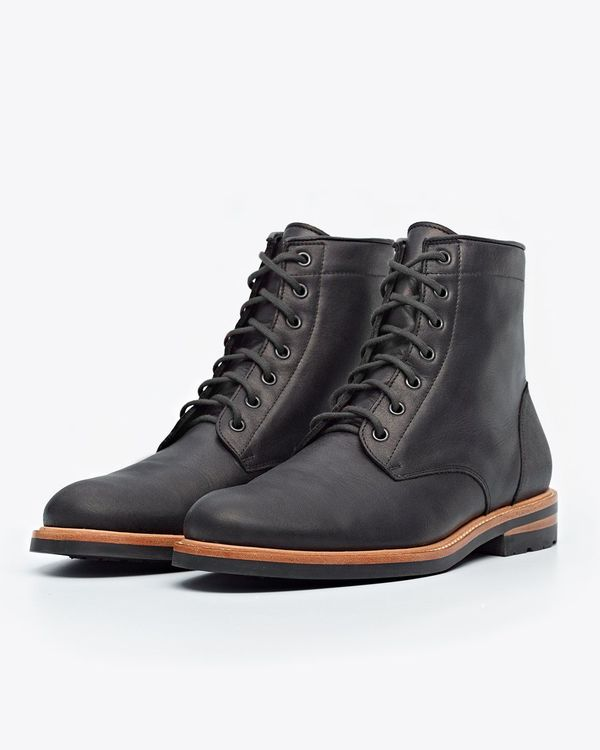Nisolo Andres All Weather Boot - Black