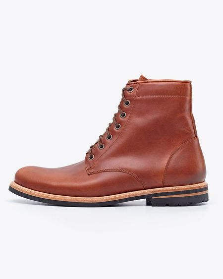 Nisolo Andres All Weather Boot - Brandy