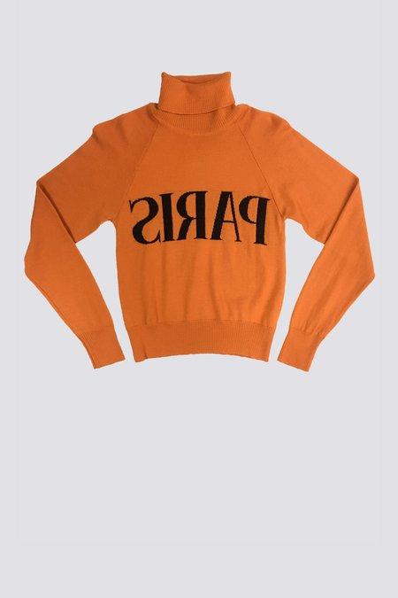 Vintage Jeremy Scott Wool Paris Sweater
