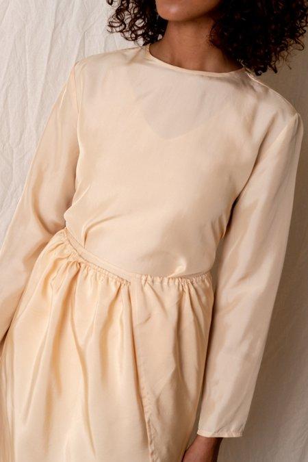 Baserange GADA DRESS - nude