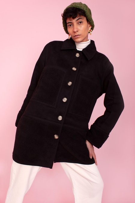 L.F.Markey Graham Coat - Black