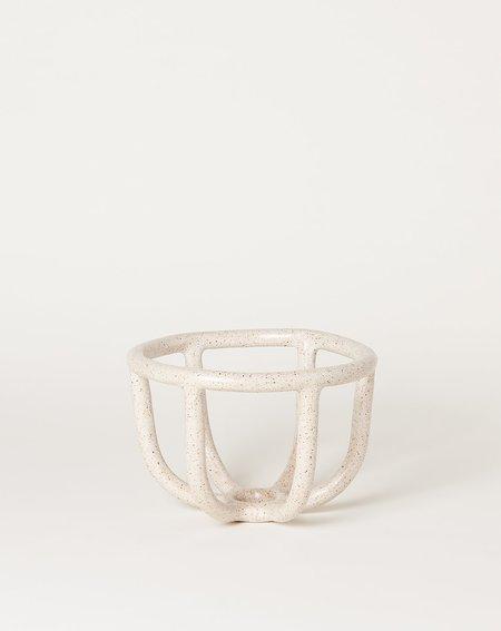 Sin Moth Bowl - Speckled White