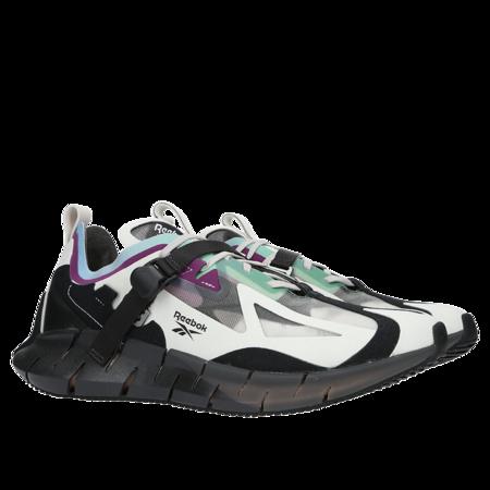 Reebok Zig Kinetica Concept Type1 shoe - Sand Stone/Black/Emerald
