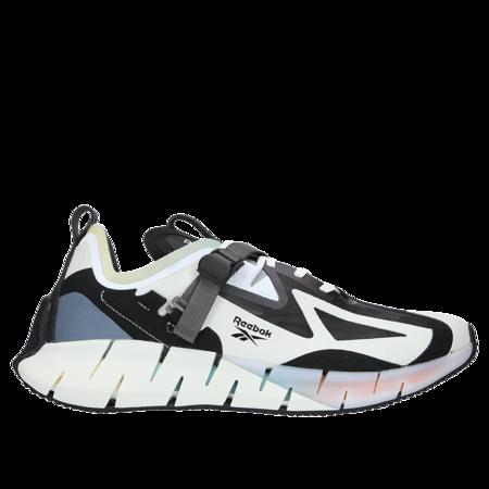 Reebok Zig Kinetica Concept Type1 shoe - White/Black/Lunar Blue