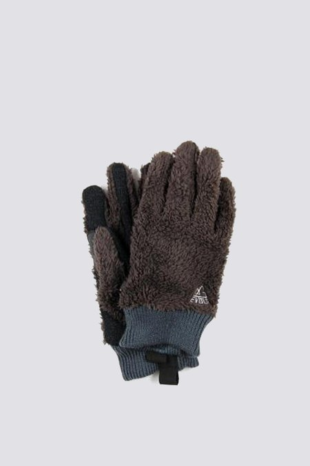 Unisex Evolg Glove Fleece Moco Glove - Brown