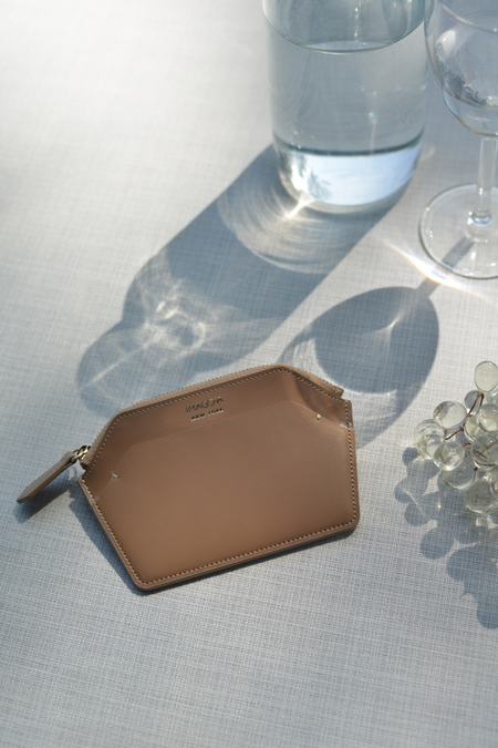IMAGO-A Nº39 Forma Wallet - Latte/Mocha