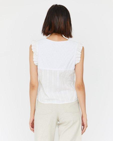 Esby Vera Top - White/Cream