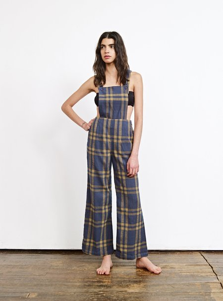 Ace & Jig Auggie Overall - Navy Print